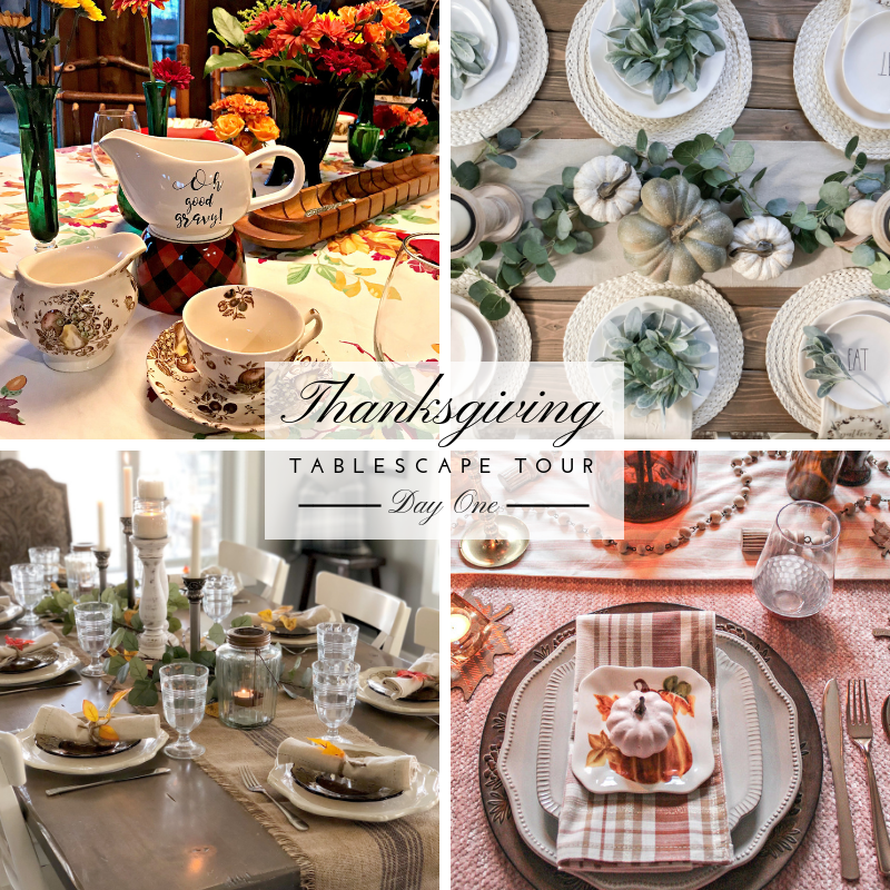 Thanksgiving Tablescape Tour – Day 1