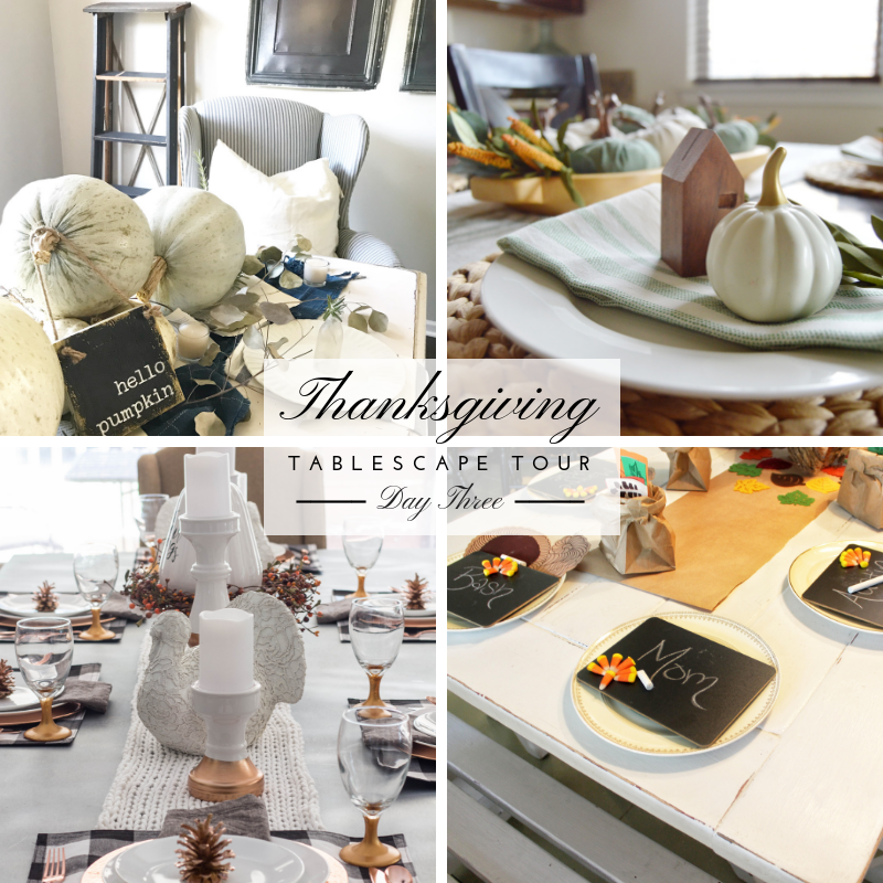 Thanksgiving Tablescape Tour – Day 3