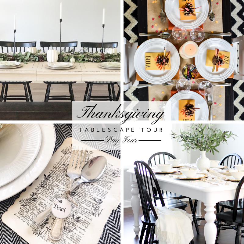Thanksgiving Tablescape Tour – Day 4