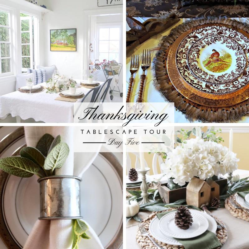 Thanksgiving Tablescape Tour – Day 5