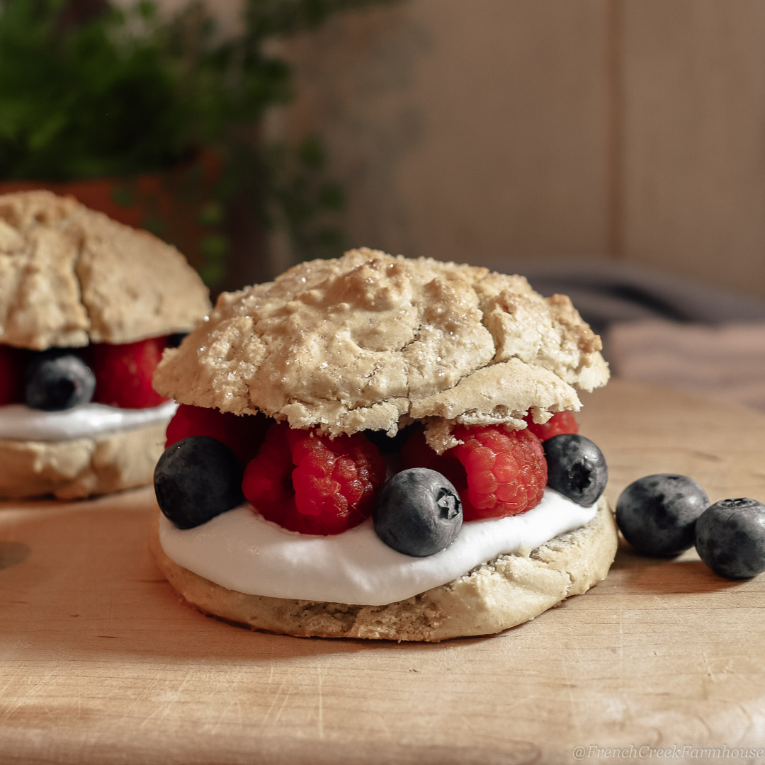 Home-Style Summer Berry Shortcake
