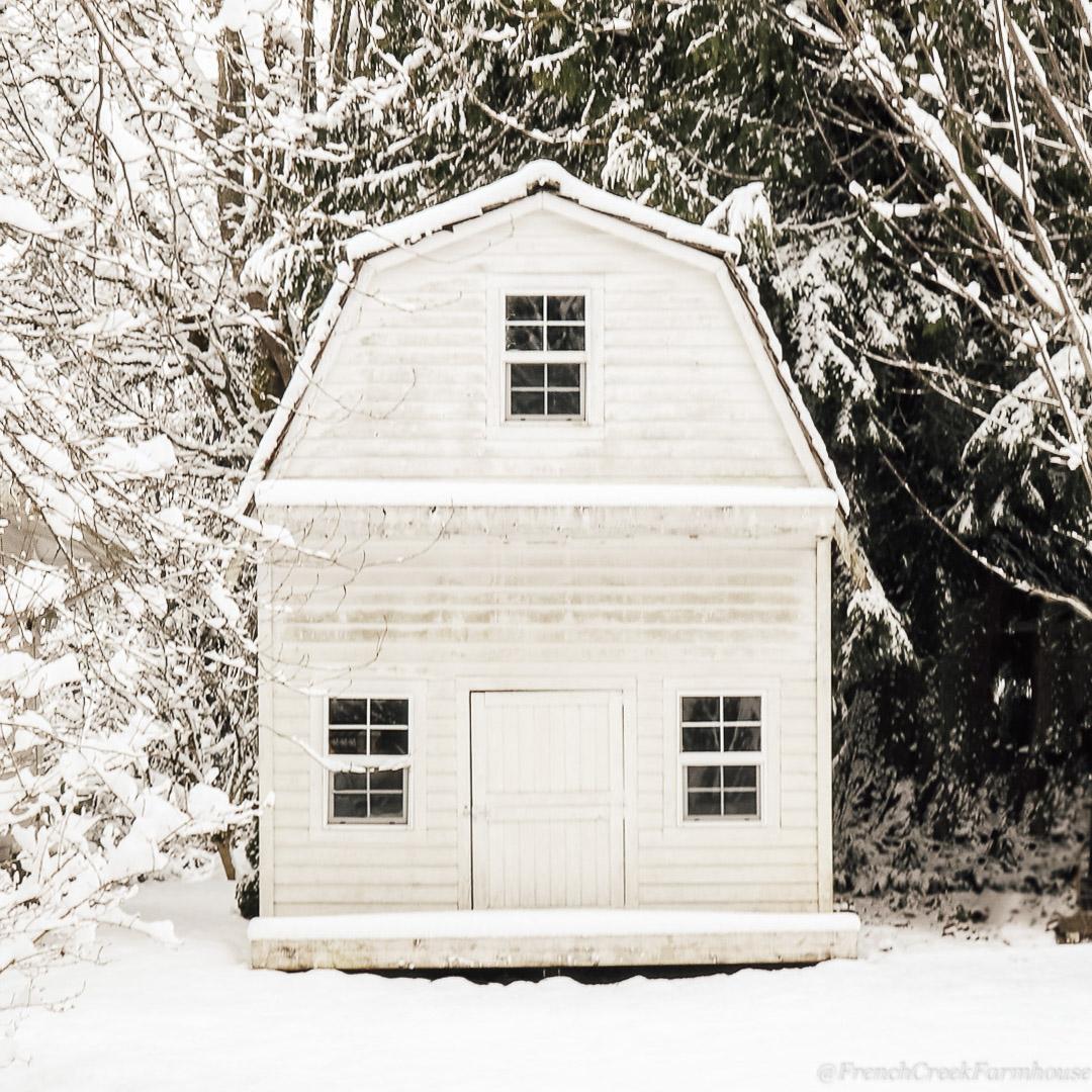 A Snowy Farmhouse Christmas