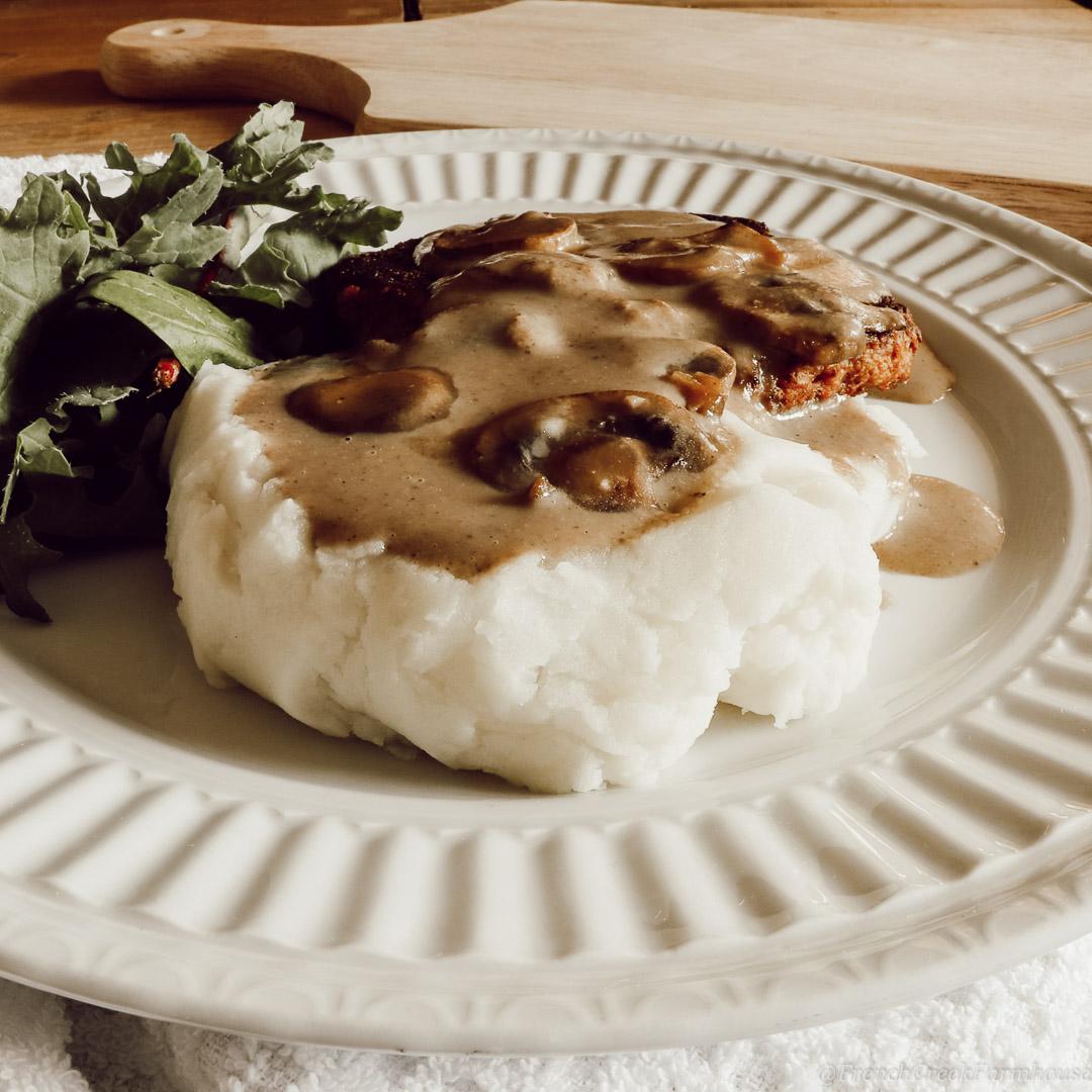 Mushroom Gravy (Gluten-free & Vegan)