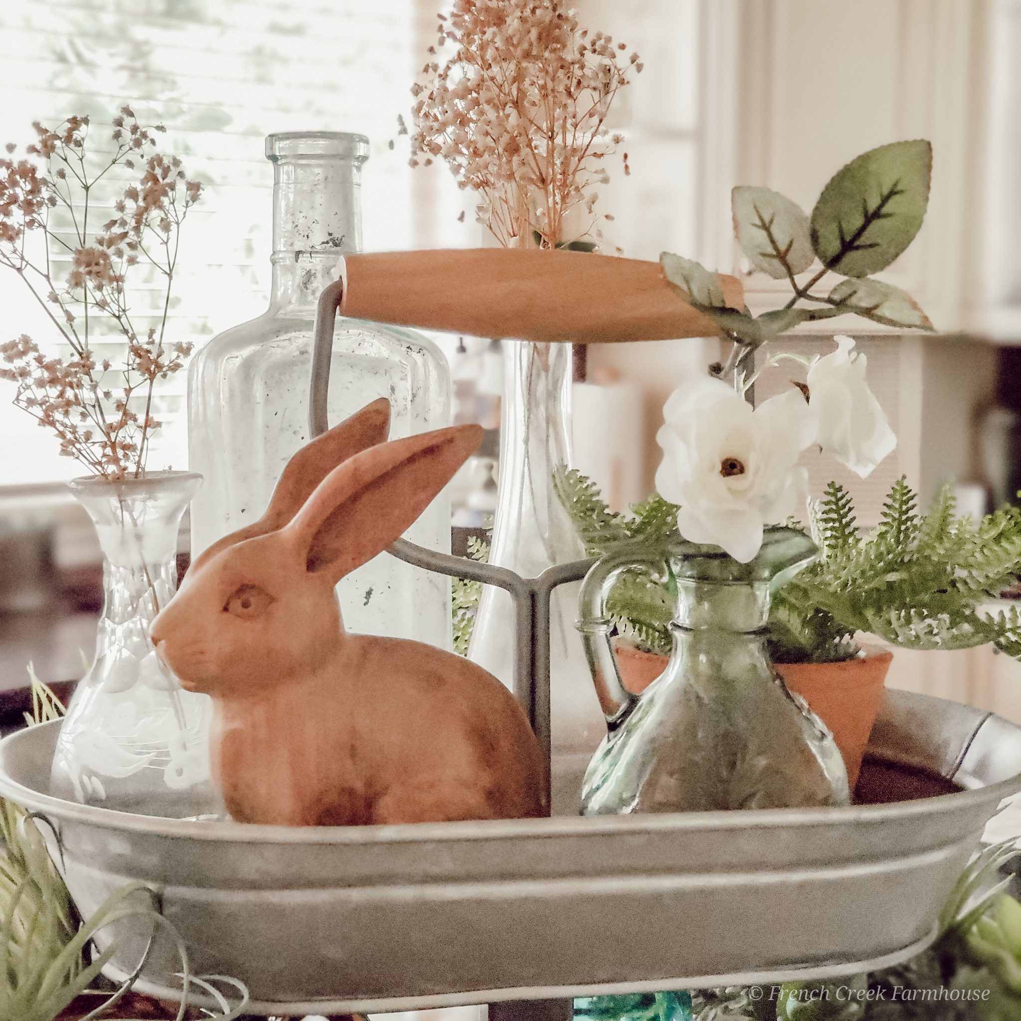 Tiered Tray Decorating Ideas for Easter