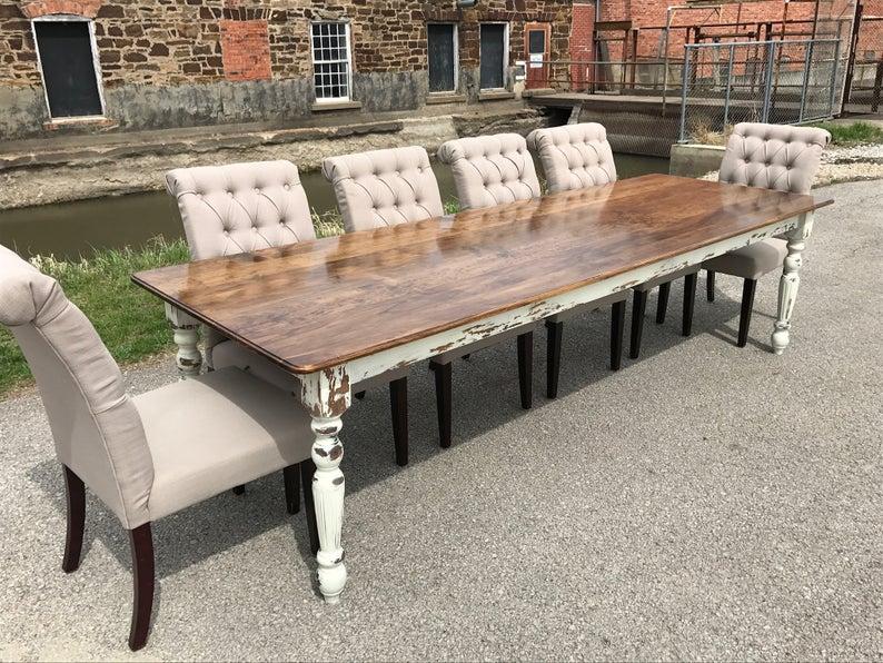 Chippy Farmhouse Dining Table