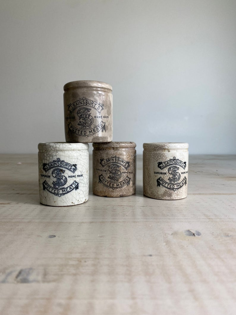 Vintage Stoneware Pots