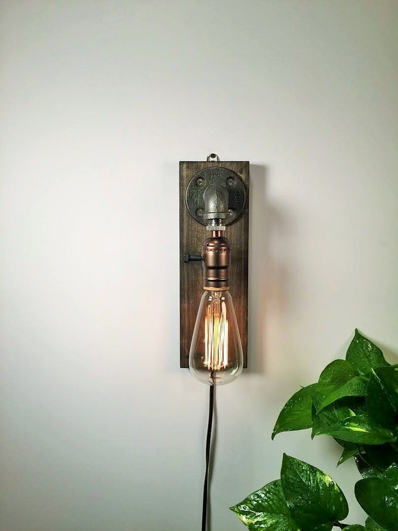 Industrial Edison Sconce