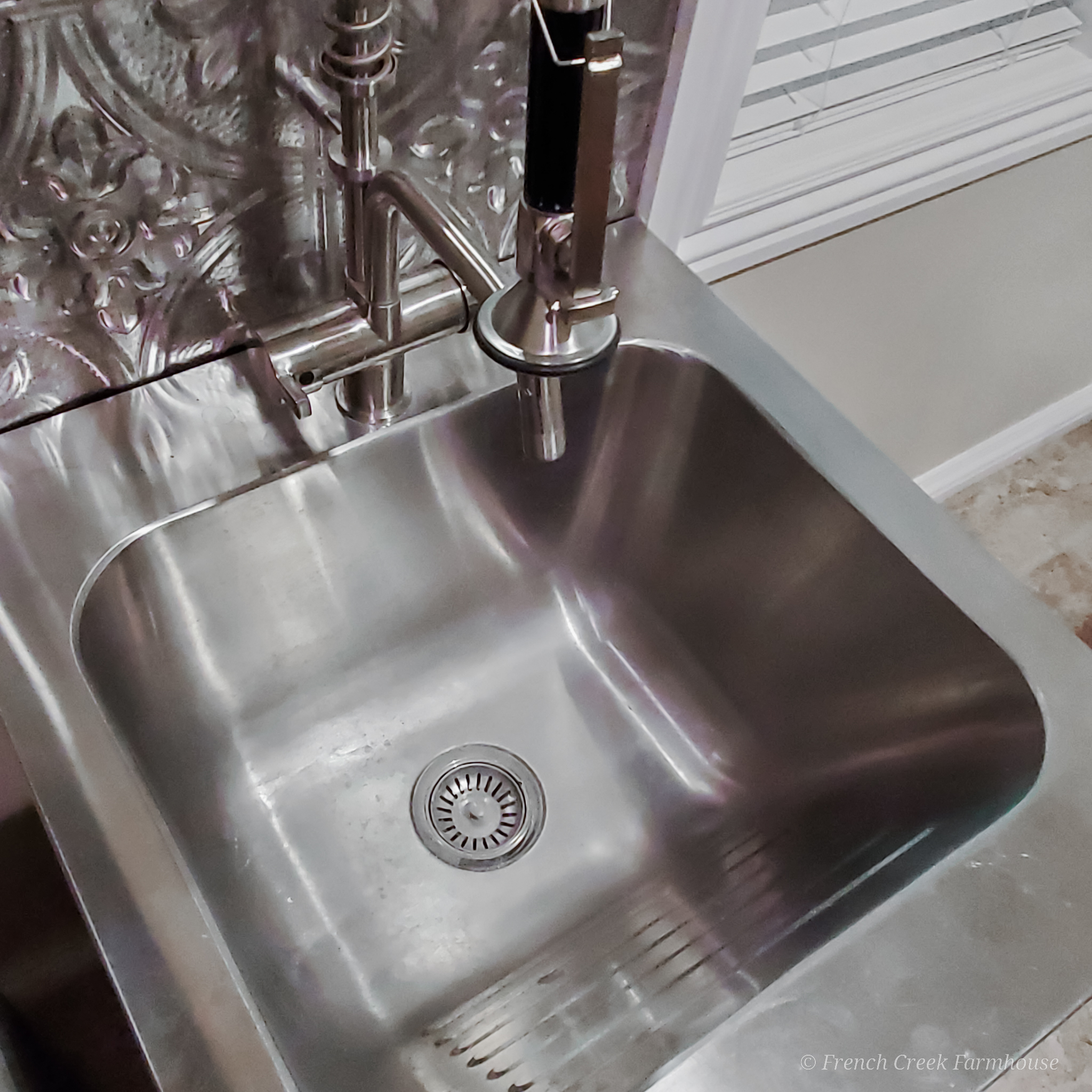 Laundry Room – Week Four: Doubt and the Utility Sink