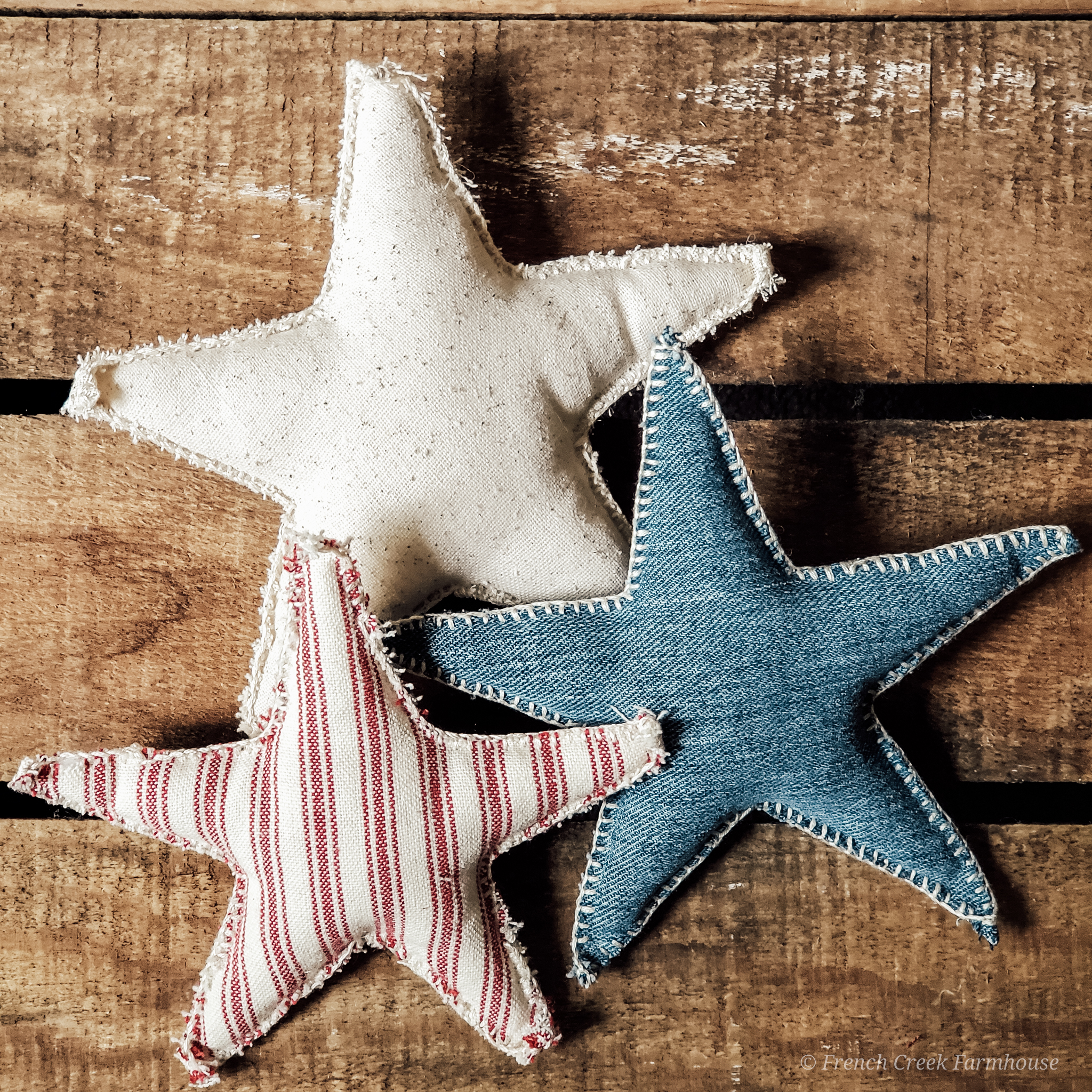 Patriotic Farmhouse Stars