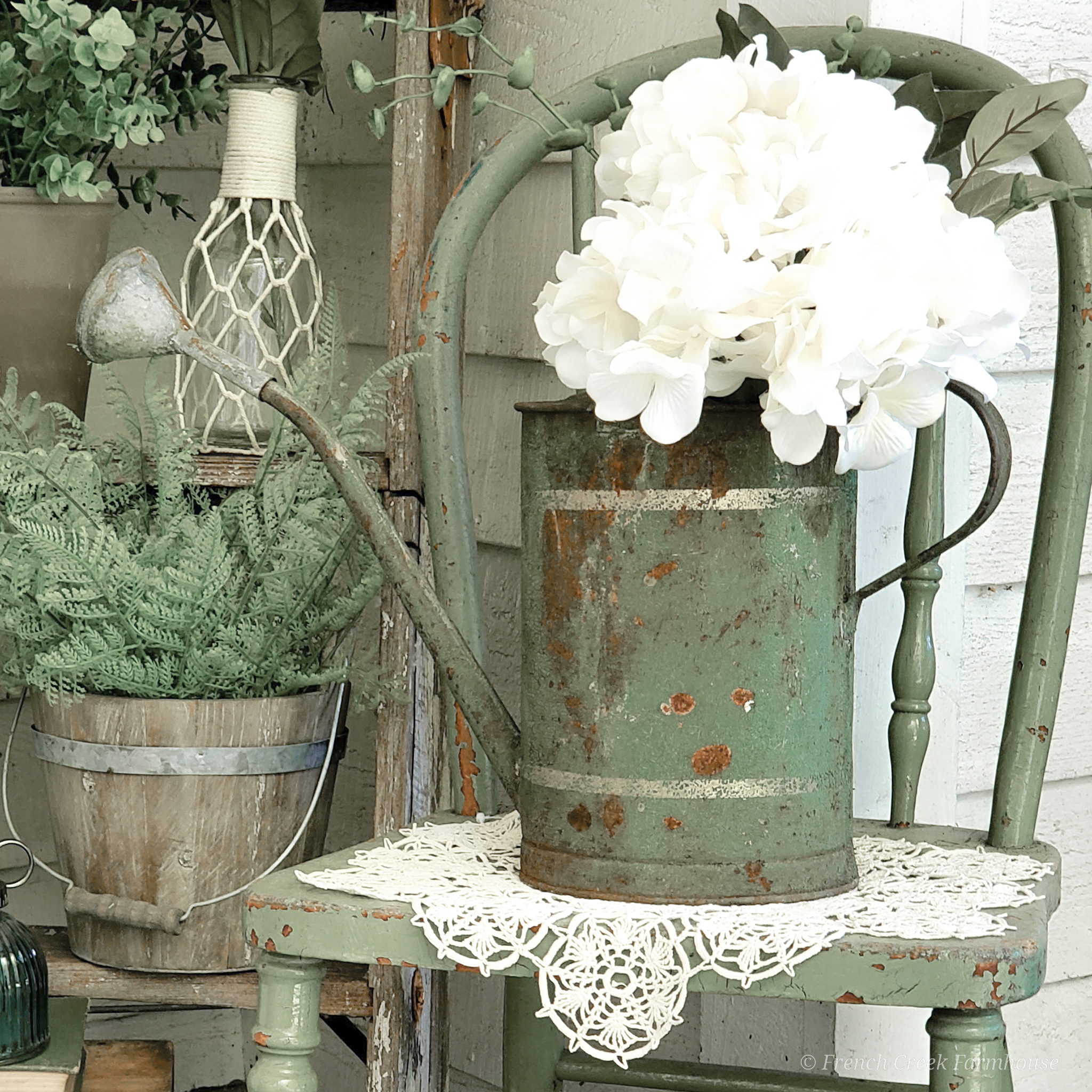 Spring Front Porch: Le Jardin Brocante