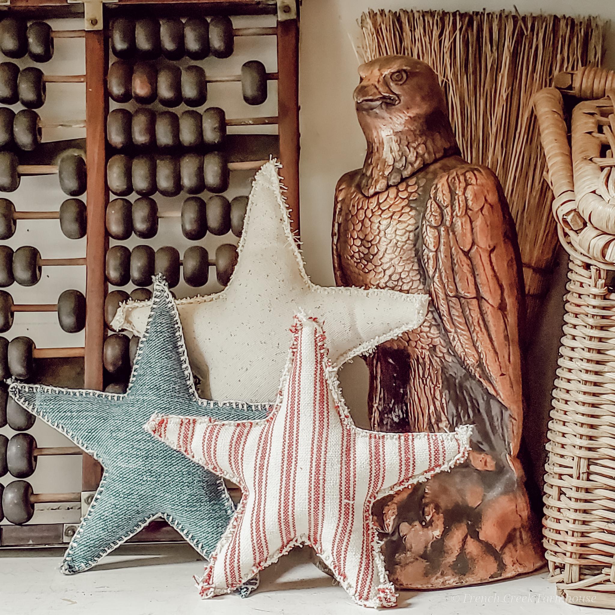 Vintage Finds & Farmhouse Favorites: Patriotic Decor
